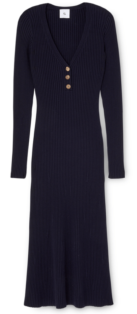 G. Label Larkin Henley Sweaterdress