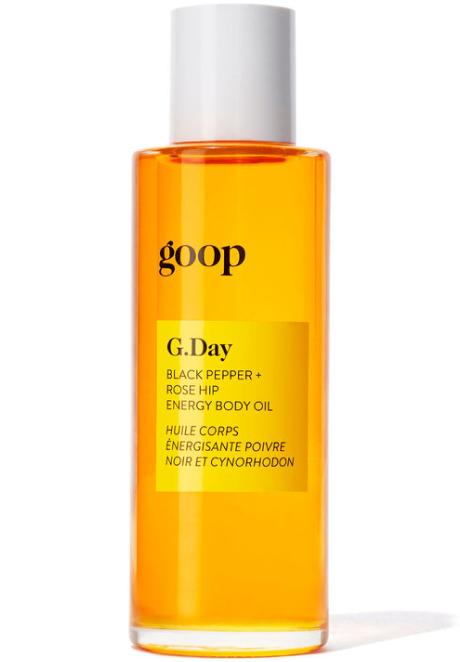 G.Day Black Pepper +Rosehip Energy Body Oil
