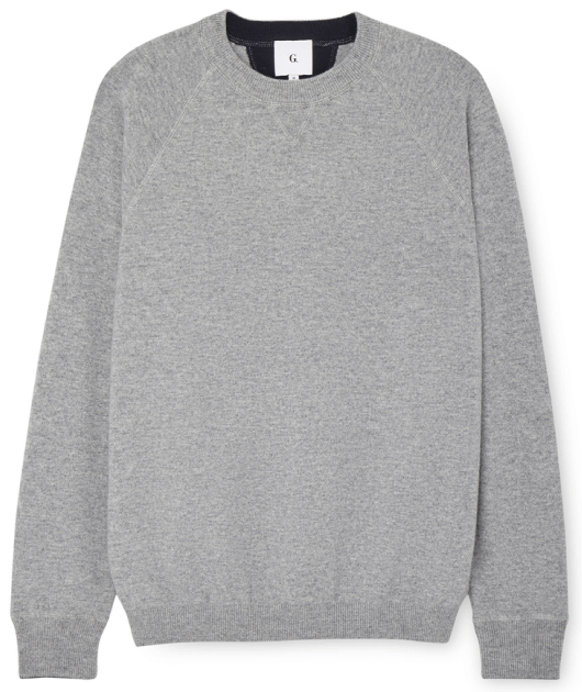 G. Label Ricky Cashmere Crewneck Sweater