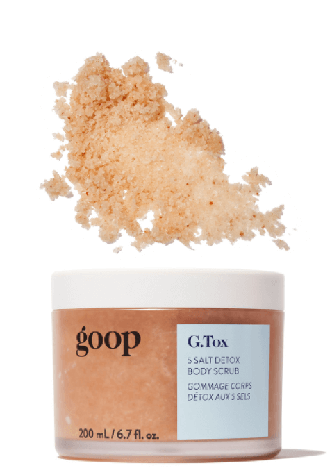 goop Beauty G.Tox 5 Salt Detox Body Scrub