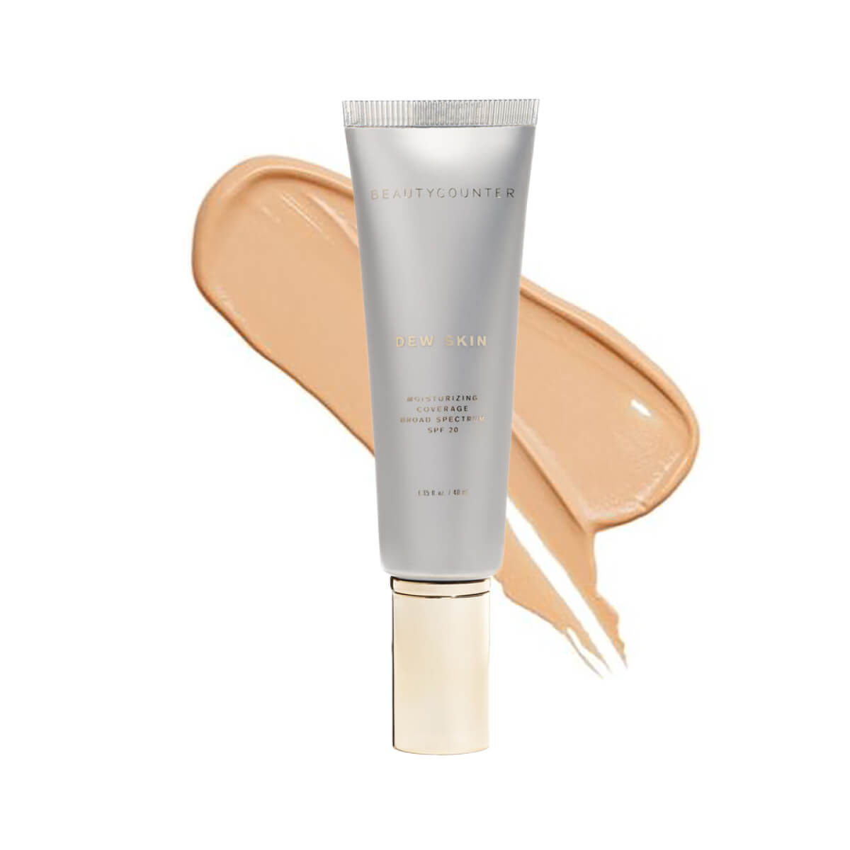 Beautycounter Dew Skin Moisturizing Coverage in No. 2