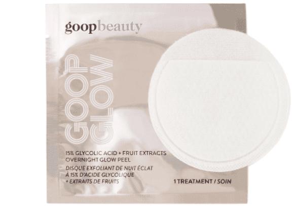 goop Beauty GOOPGLOW 15% Glycolic Overnight Glow Peel - 4 Pack