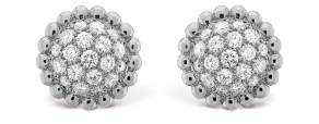 Van Cleef and Arpels Perlée Diamond Earrings
