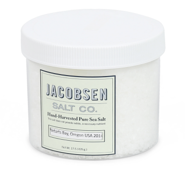Jacobsen's Salt Co. Chef Jar Pure Flake Finishing Salt