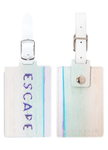 Gray Malin The ESCAPE Luggage Tag