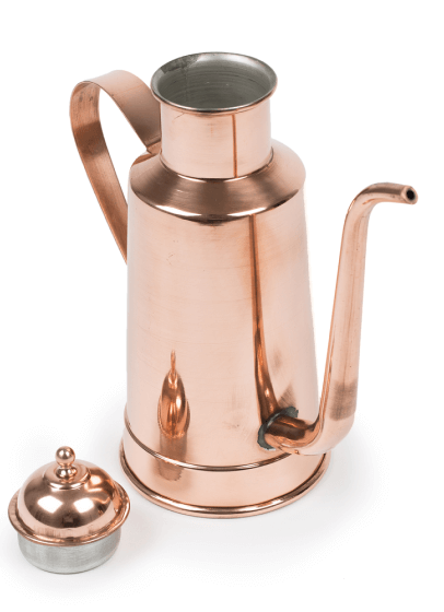 ELIGO COPPER OIL CRUET