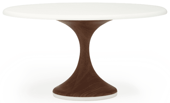 American Heirloom Walnut Base Cake Stand