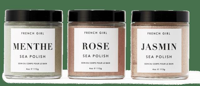 French Girl Sea Polish Trio
