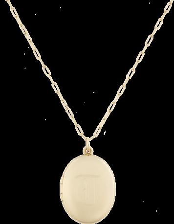 Sarah Chloe Charli Initial Necklace