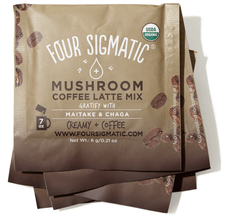 Four Sigmatic Mushroom Coffee Latte
