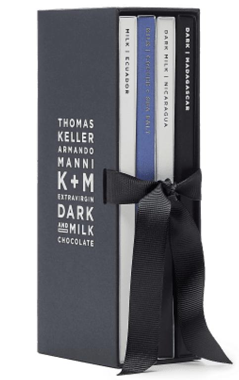 K+M Chocolate K+M Extravirgin Four-Pack Gift Box