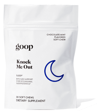 goop Wellness Knock Me Out