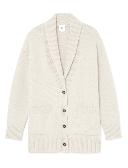g label LANA SHAWL-COLLAR cardigan