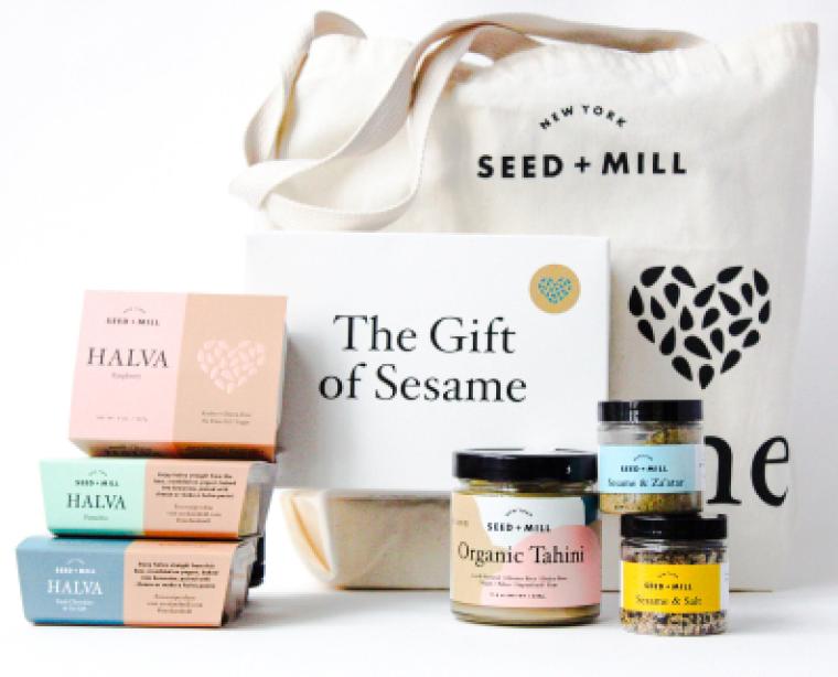Seed + Mill Halva and Tahini Giftset