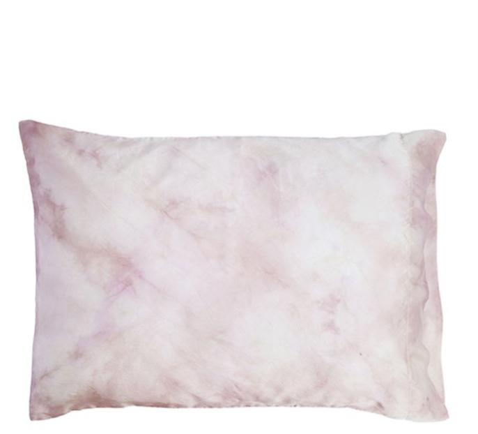 Upstate Silk Pillowcase in Rose