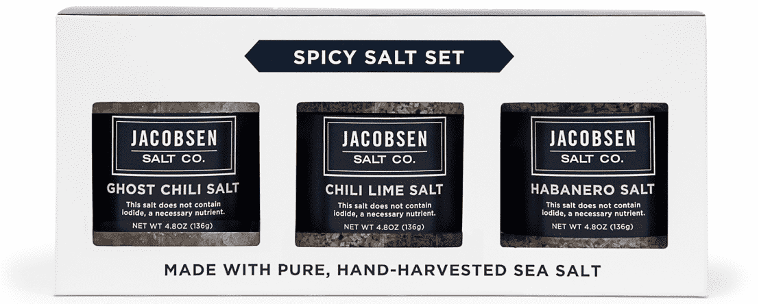 Jacobsen's Salt Co. Salt Spicy Trio Set