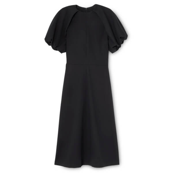 claire puff sleeve dress