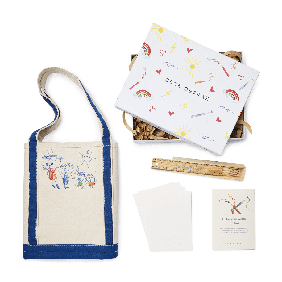 Cece DuPraz Kid's Custom Tote Kit