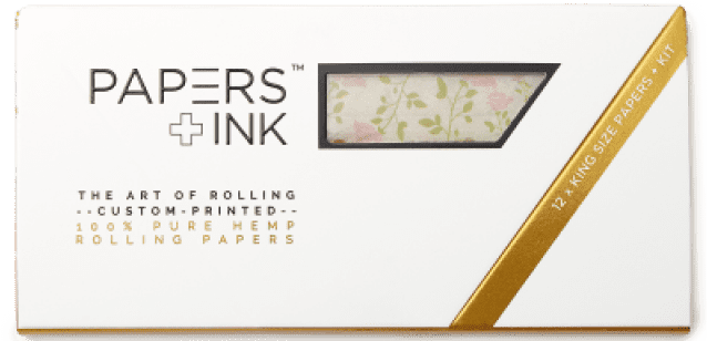 Papers+Ink Barbie's Powder Room Rolling Paper Set