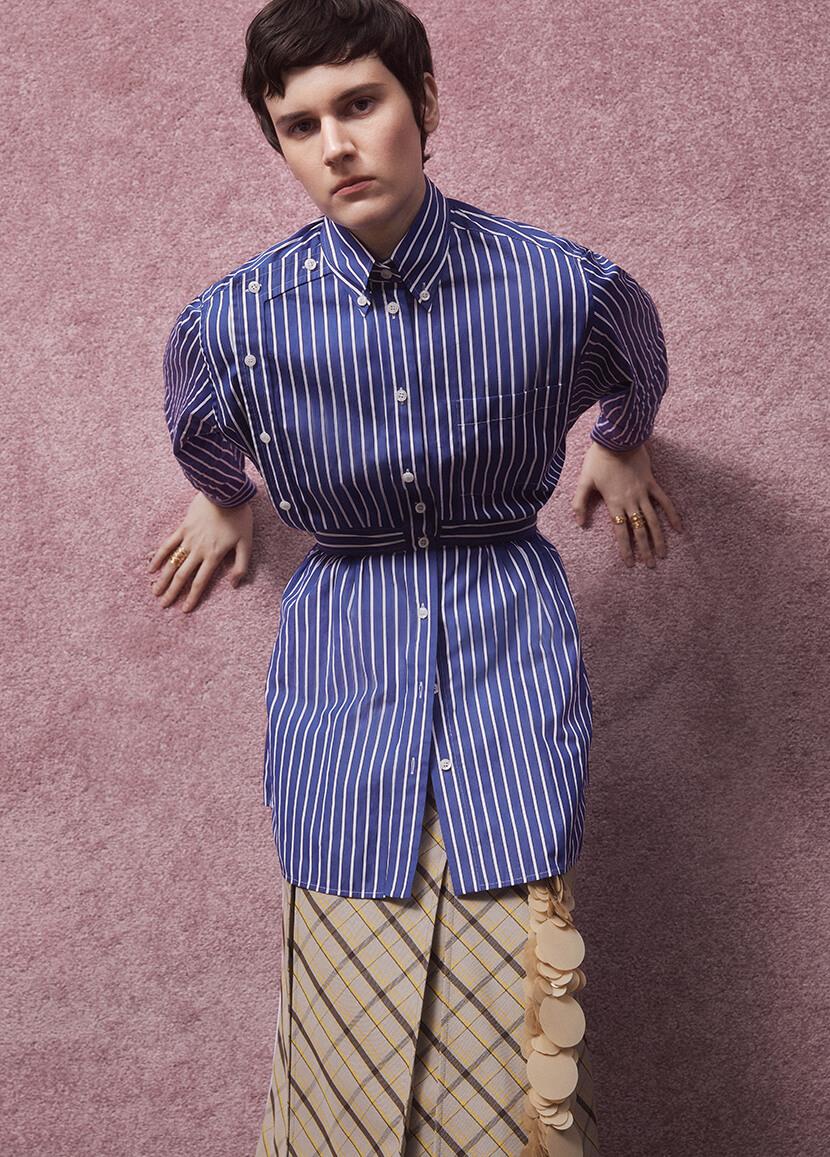 Blue Prada Shirt