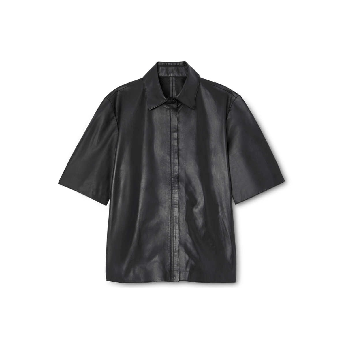G. Label taylor boy leather shirt