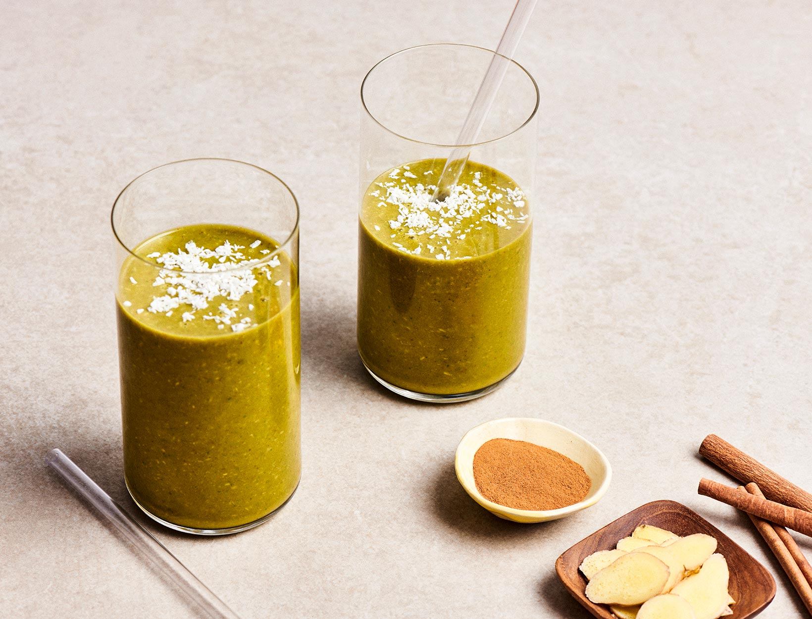 Pumpkin Spice and Greens Smoothie