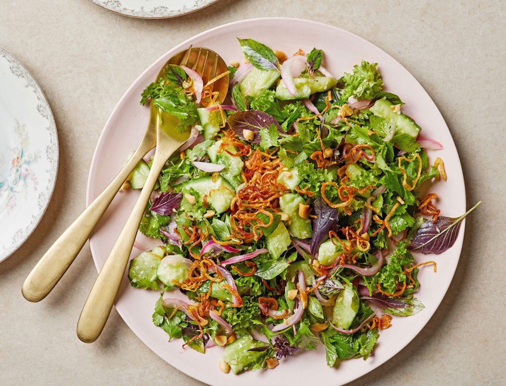 Thai Cucumber Herb Salad