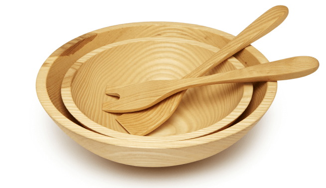 Farmhouse Pottery CRAFTED WOODEN BOWLS