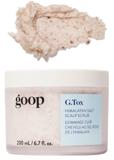 goop Beauty G.Tox Himalayan Salt Scrub Shampoo