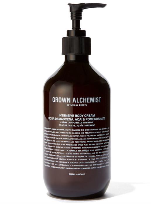 Grown Alchemist INTENSIVE BODY CREAM ROSA DAMASCENA, ACAI & POMEGRANATE