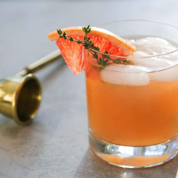 WHISKY THYME cocktail