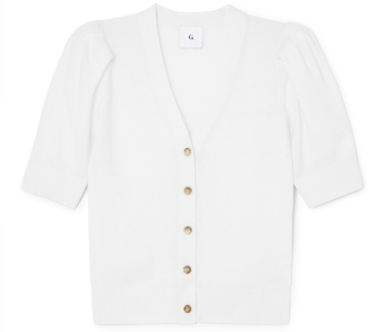 G. Label juliette short-sleeve cardigan