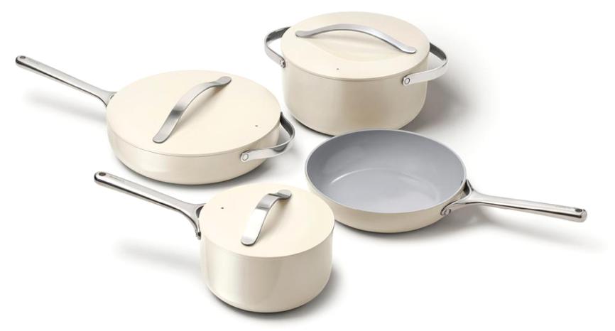 Caraway Home Ceramic Cookware Set