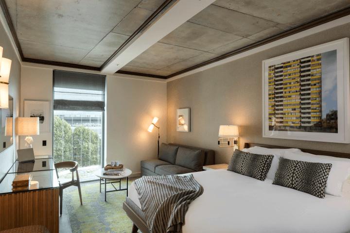 bankside hotel room