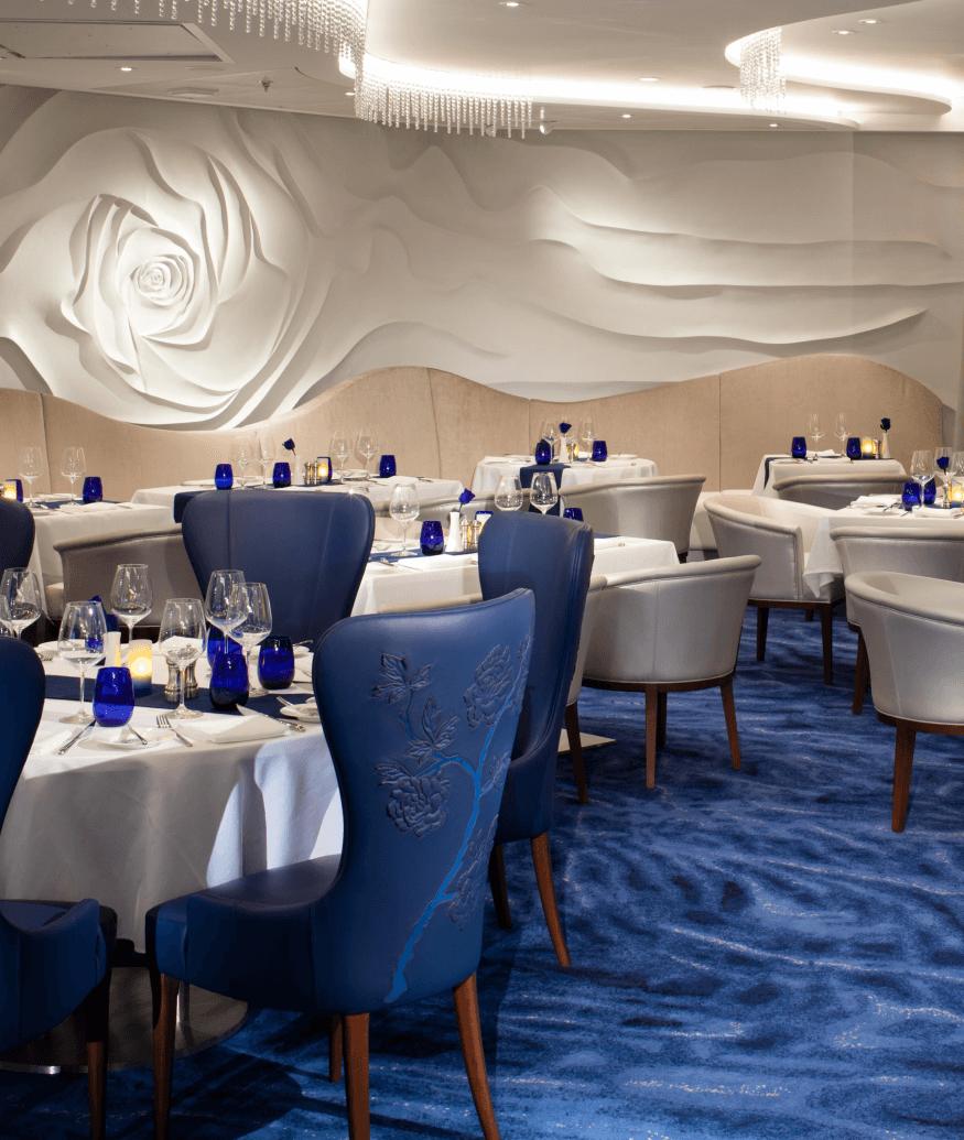 celebrity cruise dining area