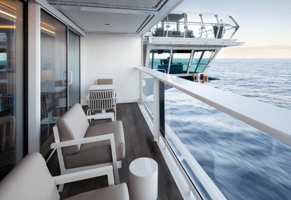 celebrity cruise balcony