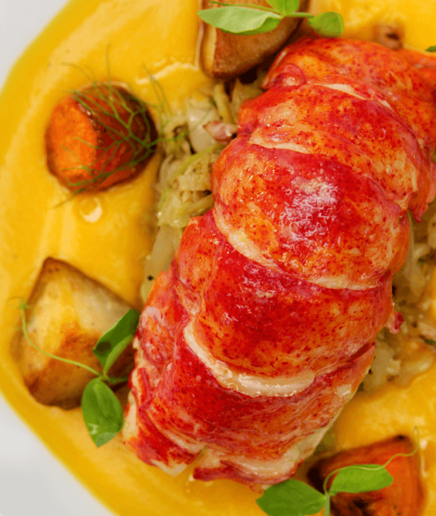 celebrity cruise lobster dish