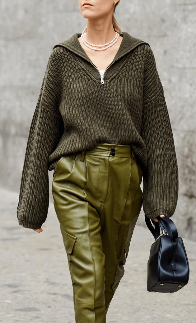 street fashion- olive