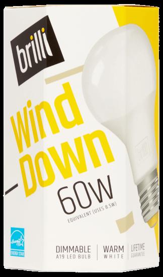 Brilli Wind Down LED Light Bulb
