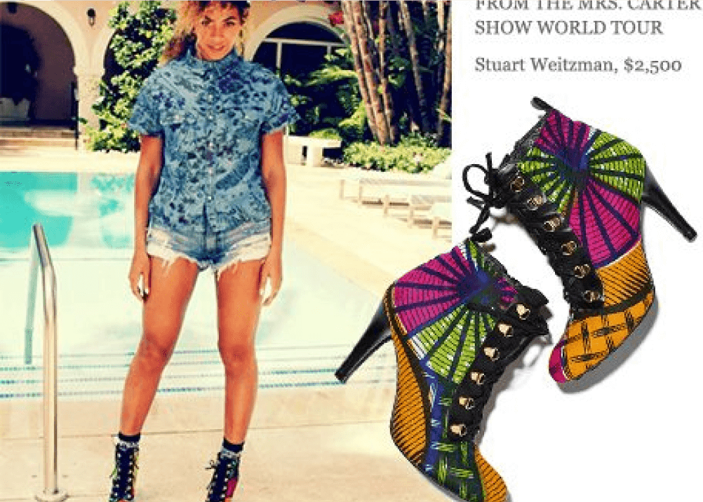 beyonce shoes