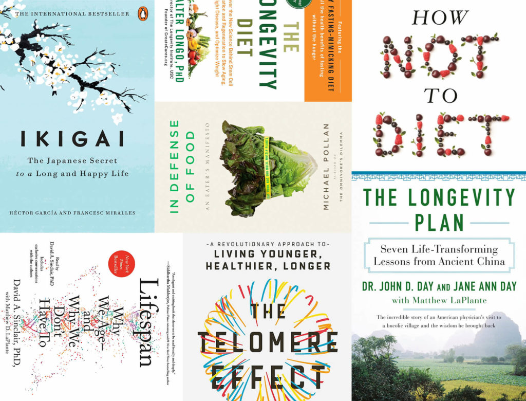 7 Practical Books about Diet, Lifestyle, and Aging Well