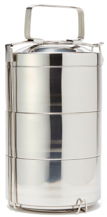 Onyx 3 Layer Tiffin Food Storage Container