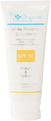 The Organic Pharmacy CELLULAR PROTECTION SUN CREAM SPF 50