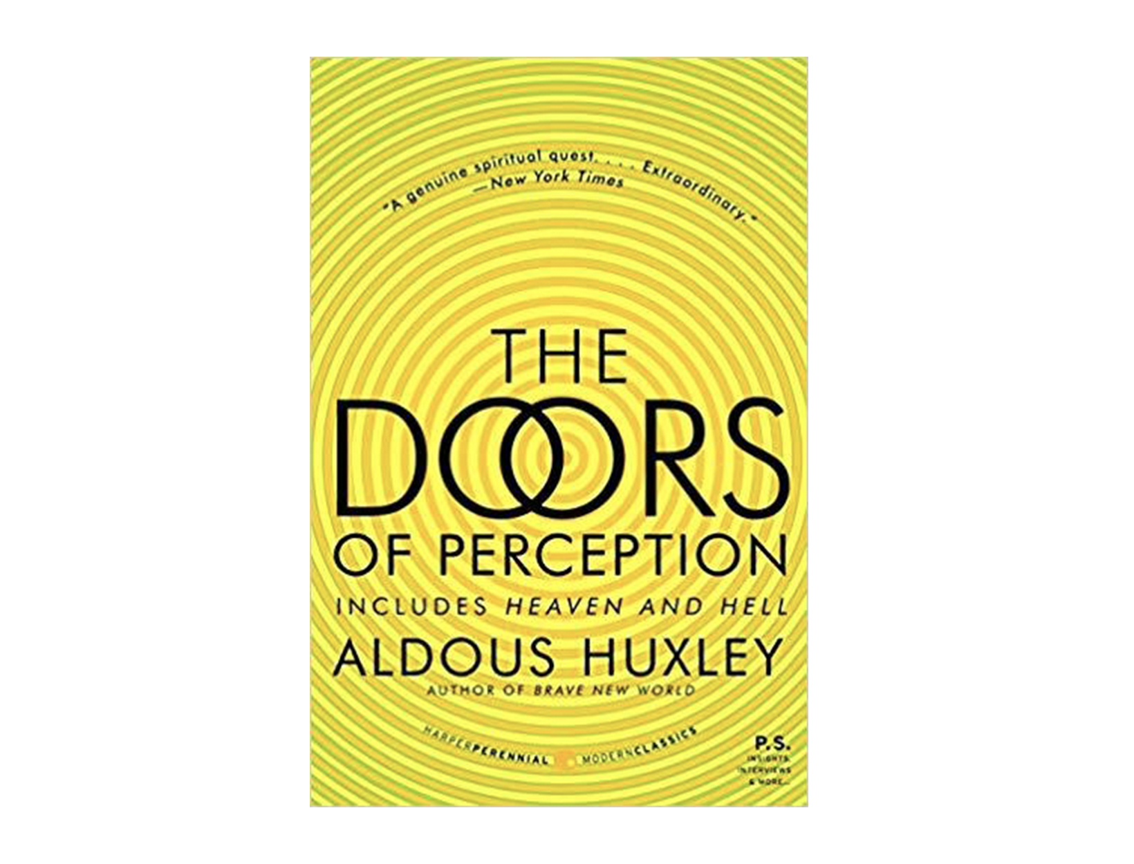 <em>The Doors of Perception</em> by Aldous Huxley
