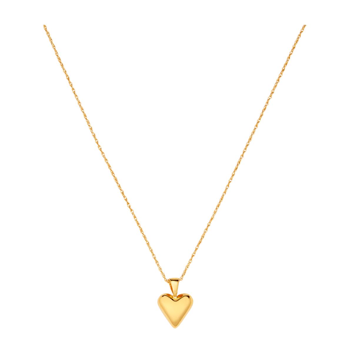 Sophie Buhai GOLD TINY HEART PENDANT