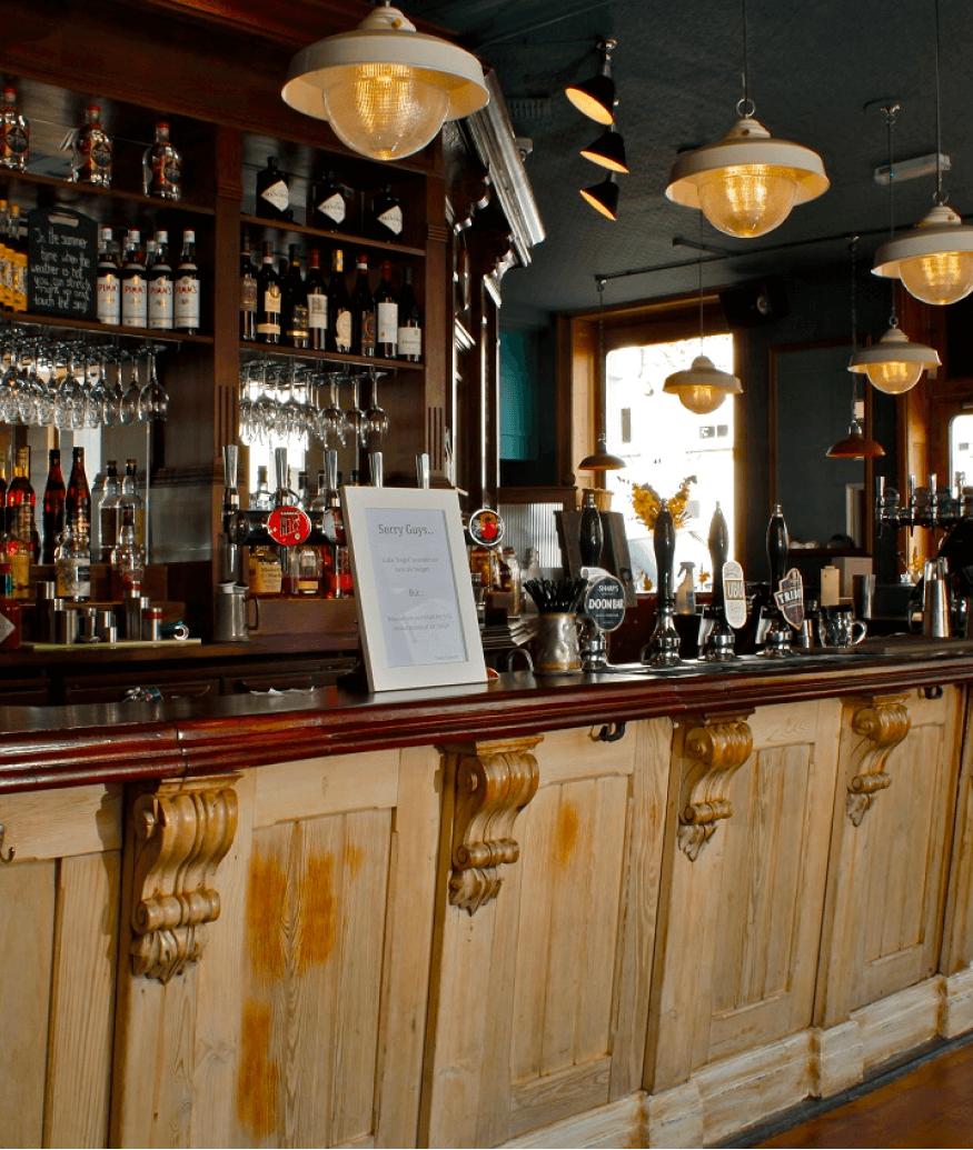 the engineer bar