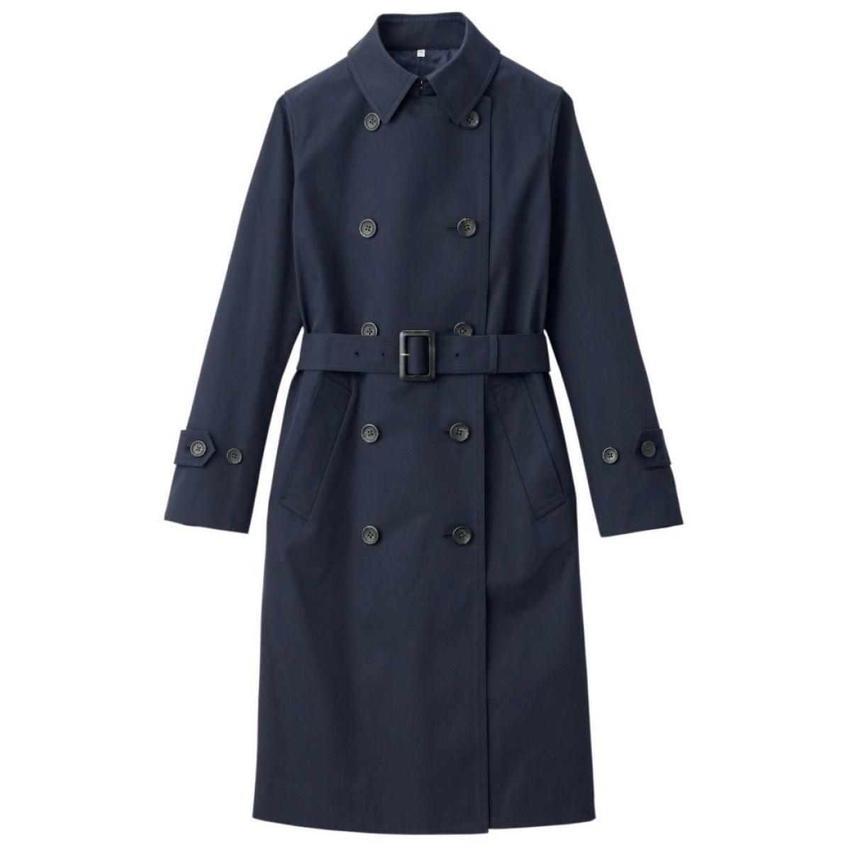 muji trench coat