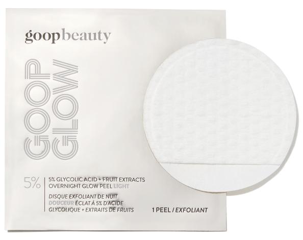 goop Beauty GOOPGLOW 5% Glycolic Acid Overnight Glow Peel