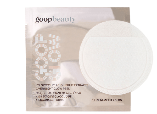 goop Beauty GOOPGLOW 15% GLYCOLIC OVERNIGHT GLOW PEEL - 4 pack
