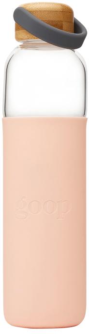Soma x goop goop Glass Water Bottle, 25 OZ